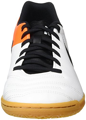 Nike Tiempox Rio Iii Ic, Chaussures de Foot Homme, Blanc, 41 EU Blanc (White/Black Total Orange)