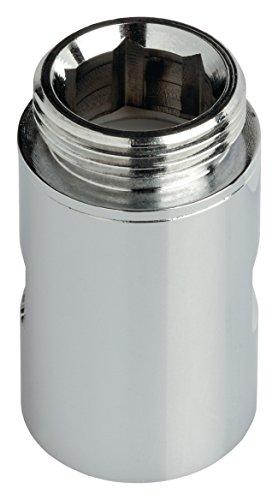 Eurosell - Premium Filter für Waschmaschine Kalk Kalkfilter Schlauch Adapter Aufsatz 3/4 Zoll-Schraube M.F. - 20 bar • Durchfluss: 18 l/min - Max. Temp.: 100°C
