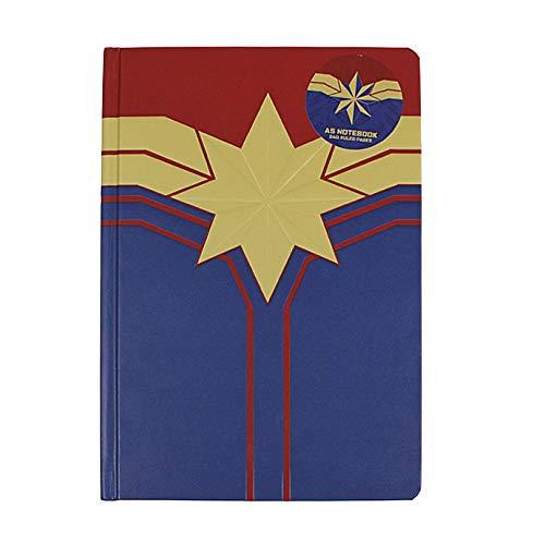 Echte Marvel-Comics Captain Marvel A5 Notizbuch für - Die Falcon Captain America Kostüm