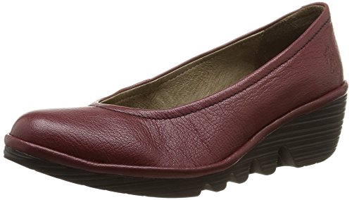Fly London - Pump, Ballerina da donna Rosso (mousse cordoba red)