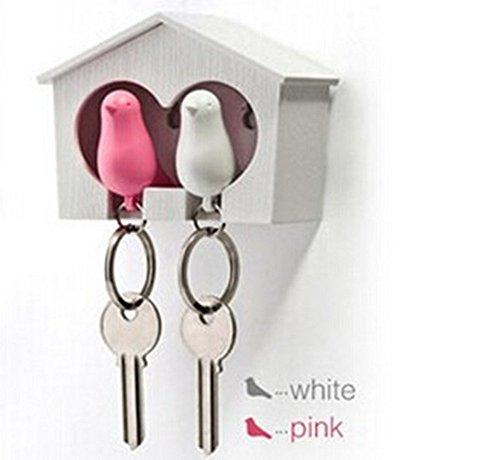 ankko-dos-gorriones-pajaro-llavero-silbido-llavero-de-casa-del-pajaro-rosa-y-blanco