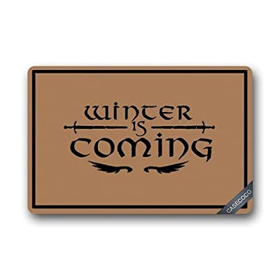 Custom Game of Thrones Doormat Door Welcome MatCover Rug Outdoor Indoor Floor Mats Non-Slip Machine Washable Decor Bathroom Mats