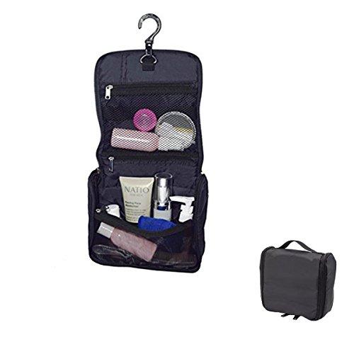 Pro-traveller à suspendre Trousse de toilette, Trousse cosmétique kit, Sac de rangement, Sac de rangement pour voyage avec crochet