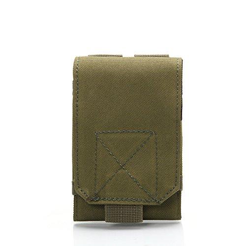 Moresave Taktische Molle Handytasche Gürteltasche mit Klettverschluss für Iphone 4/Iphone 5/4.7