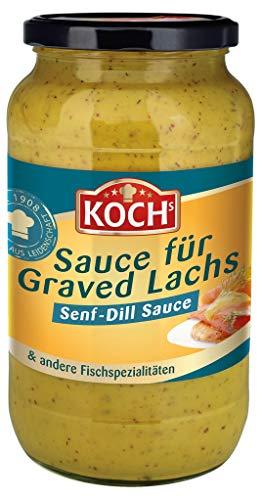 KOCH's - Senf-Dill Sauce für Graved Lachs - 1000ml