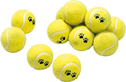 Karlie Tennisball 12-er Set, 30 : 15, 6 - Hund Tennisbälle