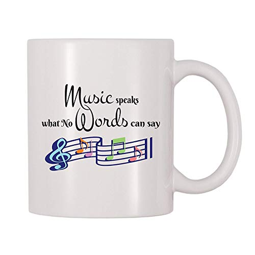 TK.DILIGARM Music Speaks What No Words Can Say Mug (11 oz)