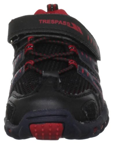 Trespass  Buga, Chaussure de sport mixte Noir - Fire