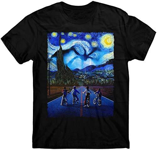 Stranger Things T Shirt Starry Night T Shirt Demogorgon Eleven Steve T Shirt Print T Shirts For Man Casual Short Sleeves