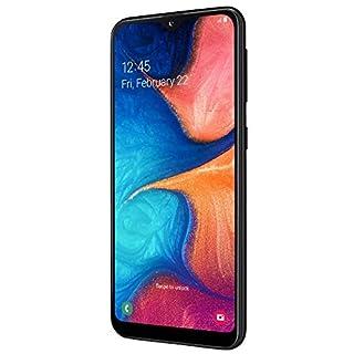 Samsung Galaxy A20e Smartphone (14.7cm (5.8 Zoll) 32GB interner Speicher, 3GB RAM, Dual SIM, Schwarz) - Deutsche Version