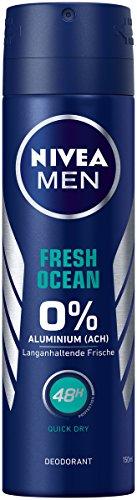 n Deo Spray im 6er Pack (6x 150 ml), Deo ohne Aluminium mit erfrischender Formel, Deodorant mit 48h Schutz pflegt die Haut ()