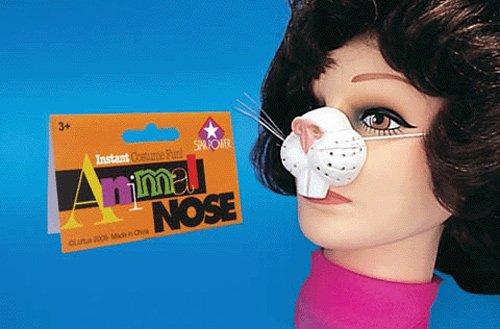 Rabbit nose mask (Nose ()