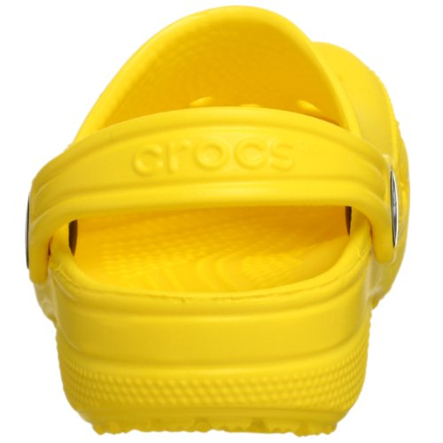 Crocs Classic Kids, Sabots Mixte enfant, Chocolat Jaune (Yellow)