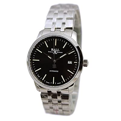 BALL Legend Stainless Steel Black Automatic Men's Watch NM2030D-SJ-BK