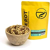 FIREPOT Orzo Pasta Bolognese (Extra Large) - Healthy Dehydrated Expedition Food