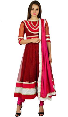 Atasi Frauen Anarkali Anzug Salwaar Kurta-Set Mit Dupatta Ready-Made Indian Ethnischen Partei Zu Tragen Kleid Kundenspezifische Kleidung