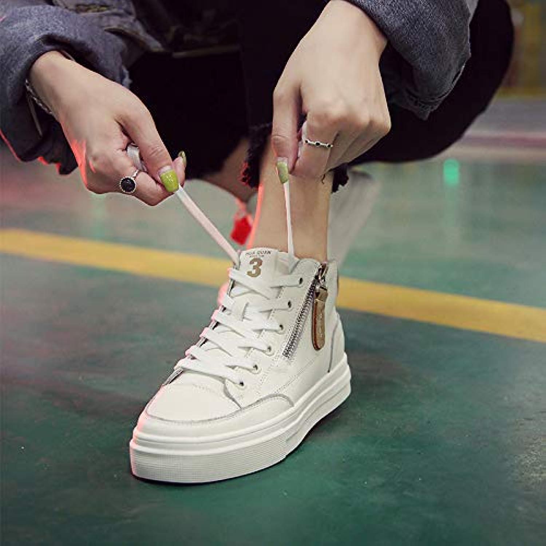 scarpe Scarpe da Ginnastica, Scarpe da Donna Casual da Donna Basse Basse in Pelle da Studente,Bianco Crema,38 | Shop  | Sig/Sig Ra Scarpa