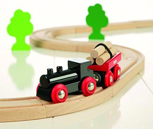 Imagen 2 de Brio - Set circuito de tren con bosquecito (33042)