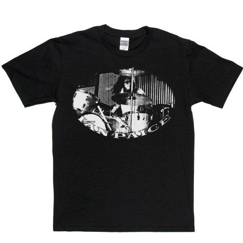 Ian Paice Deep Purple Enlglish Drummer Legend T-shirt Schwarz