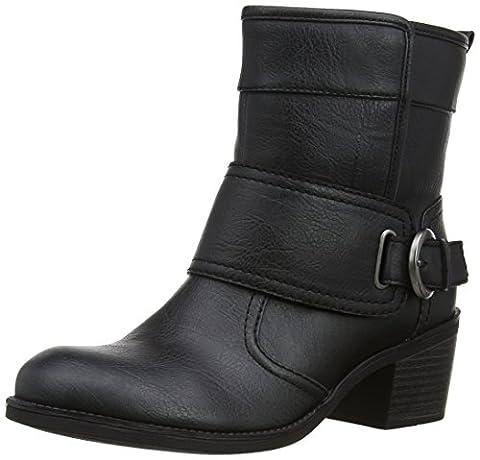 Esprit Womens Tea Bootie Boots 084EK1W023 Black 7 UK, 41 EU
