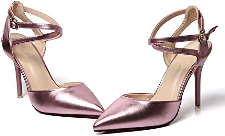 BAJIAN-LI Alta heelsdonna sandali estivi di di di Peep toe scarpe basse Ladies Flip Flop sandali scarpe | Prese tedesche  64011a