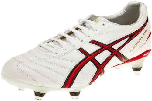 ASICS,  Bianco White/Red/White