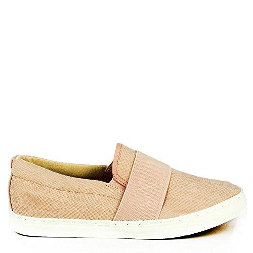 Ideal Shoes, Damen Sneaker Rose