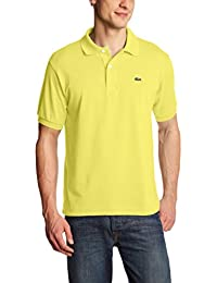 Lacoste L1212  - 00 - Polo Homme  Jaune (Daphne)-XX-Large (Taille Fabricant : 7)