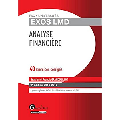 Exos LMD - Analyse financière, 2ème Ed