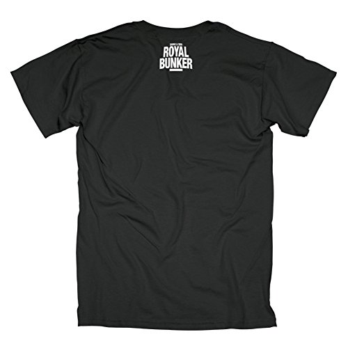 Savas & Sido Royal Bunker Photo T-Shirt Black