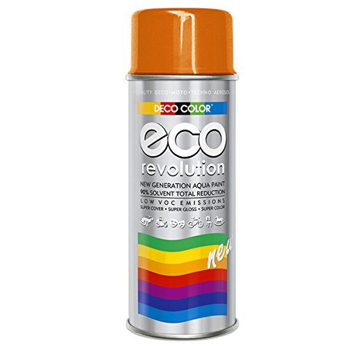 Preisvergleich Produktbild Fahrzeugteile Hoffmann DC ECO Lackspray glänzend matt 400ml nach RAL freie Farbauswahl (Orange Glanz RAL 2004)