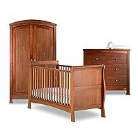 Izziwotnot Bailey Nursery Furniture Set (3-Piece, Oak)