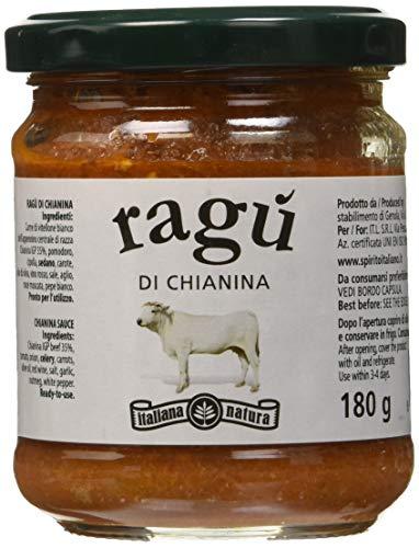 Italiana Natura Ragù di Chianina - Pacco da 12 x 180 gr