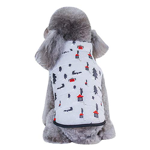 (Ears Winter Bekleidung Welpen Kostüm Katze Hund Warme Weste Heimtierbedarf Kleidung Winter Bekleidung Welpen Kostüm)