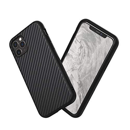 RhinoShield Coque SolidSuit pour iPhone 11 Pro Max - Finition Premium - Fibre de Carbone