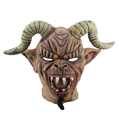 BESTOYARD Halloween Scary Maske Toothy Zombie Teufel Maske -