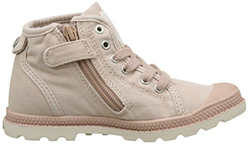 Palladium Unisex-Kinder Pallabrouse Mid Z Lp Sneaker Pink (Rose Dust/Marshmallow/Cubic Print)