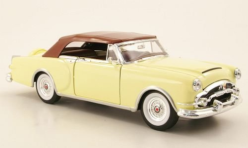 packard-caribbean-beige-clair-1953-voiture-miniature-miniature-deja-montee-welly-124