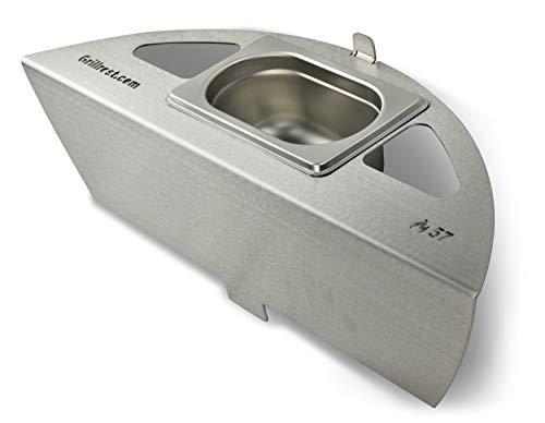 Grillrost.com Das Original Kugelsmoker für Ø 57er Kugelgrills - Mach aus deinem - Grill Ring Weber