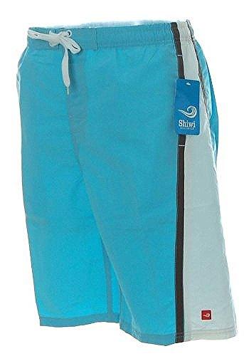 Shiwi Herren Badeshorts Shorts Badehose Boardshorts Blau