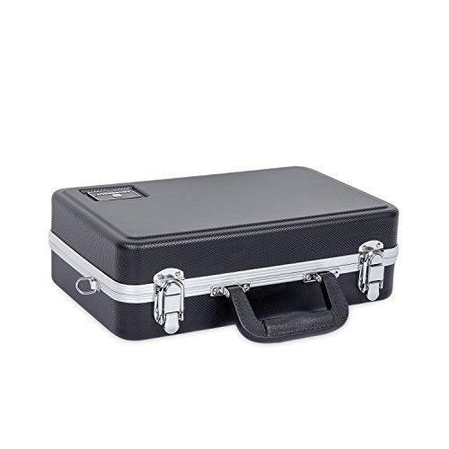 Crossrock Klarinettenkoffer, geformte ABS-Hartschale ABS Molded schwarz