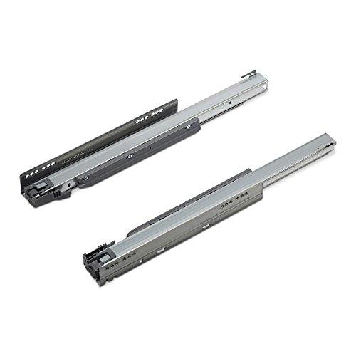 1 Paar (L/R) Blum Legrabox Korpusschienen Nennlänge: 500 mm/Modell 750.5001B/Stahl verzinkt/Tragkraft 40 kg/Schubladenschiene Vollauszug von SO-TECH®