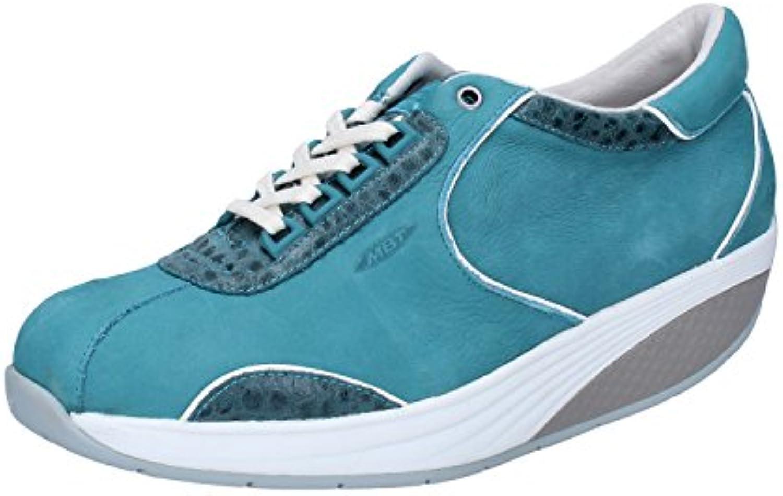 MBT Awena Fashion scarpe da ginnastica Donna Nabuck Pelle | Superficie facile da pulire  | Uomini/Donne Scarpa