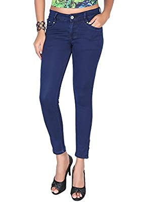 #MumbaiTrends ASABAs New Stretchable lycra soft Denim cotton jeans for Women in Slim Fit manycolorsFashion wear by ASABA branded Best price. Many colors and plus sizes availaible