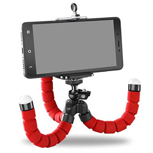YONG FEI Handyhalter - Flexibler Octopus Stativhalterung Selfie Erweiterungsständerhalterung Monopod Styling Zubehör für Handy-Kamera Handyhalter (Farbe : Blau)
