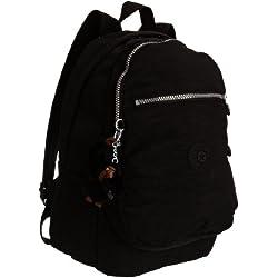 Kipling - Clas Challenger, Mochilas Unisex Niños, Schwarz (Black), One Size