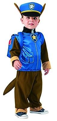 Patrulla Canina - Disfraz de Chase, talla 3-4 años (Rubies 610502-S) por Rubies