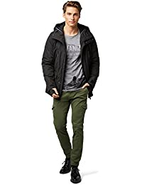 TOM TAILOR Denim Herren Hose Stretch Twill Cargo Jogger