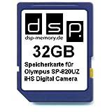 DSP Memory Z-4051557328594 32GB Speicherkarte für Olympus SP-820UZ iHS Digital Kamera