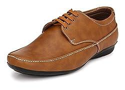 John Karsun Mens Brown Derby Shoes - 9 UK